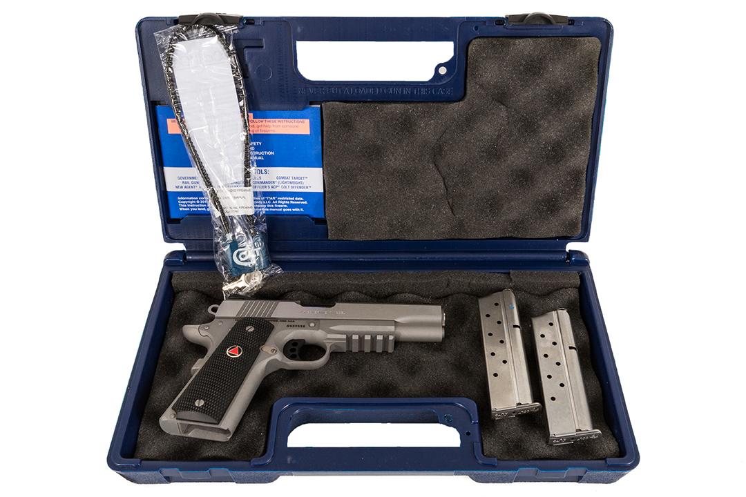 Colt Delta Elite Rail | Gun Genius